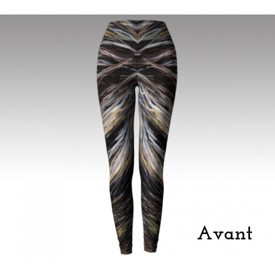 Legging poils de lion